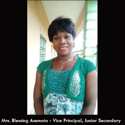 Mrs. Blessing Asemota