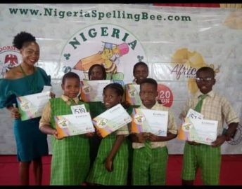 Nomec Wins Spelling Bee Competition